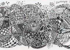 Introducing Zentangles
